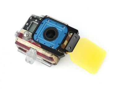 Sixxy Light Motion Night Under Sea Filter For GoPro Hero 3 (YELLOW)