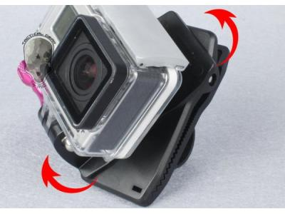 TMC 360 Clip for GoPro HD Hero3 and Hero3+ ( BK )