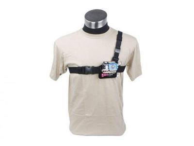 TMC Light Weight 3 Points Chest Belt For GoPro HD Hero2/3 Black Color