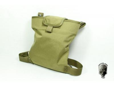 TMC Mag Drop Pouch w Modified Leg Strap (Khaki)