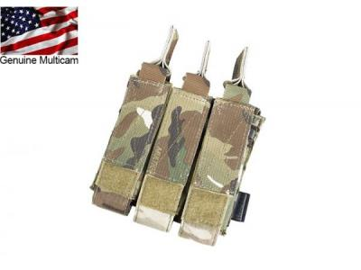 TMC MOLLE Tri Open Top Mag Pouch for MP7 ( Multicam )