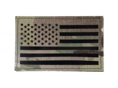 TMC Large US Flag Infrared Patch ( Multicam )