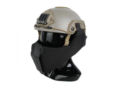 TMC MANDIBLE for OC Highcut Helmet ( Black )