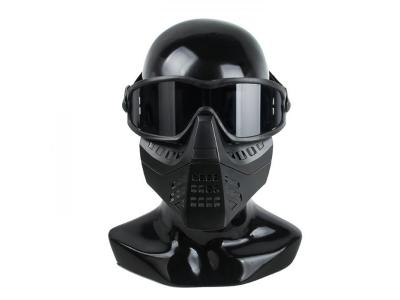 TMC Impact-rated Goggle with Removeable Mask ( BK )