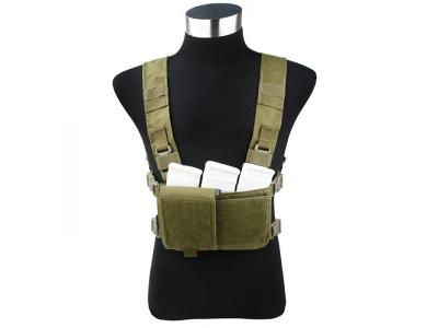 TMC Modular Chest Rig ( Set B Khaki )