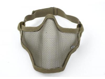 TMC V1 Strike Steel Half Face Mask ( Tan )