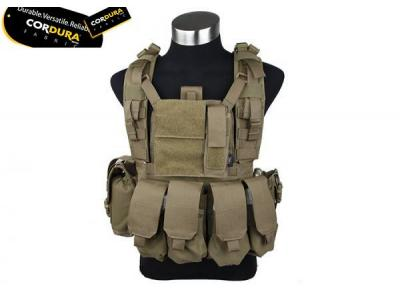 TMC MOLLE RRV Plate Carrier with Pouch ( CB )