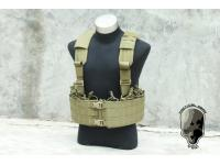 TMC Load Bearing Boar Chest Rig ( Khaki )